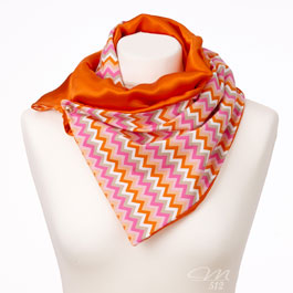 DRAPÉ® Chevron Orange