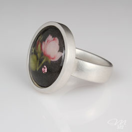 Ring Rose Noir - Bild 2