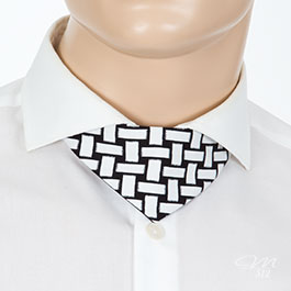 No-Tie® Tube Black-White