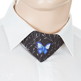 No-Tie® Butterfly Blue
