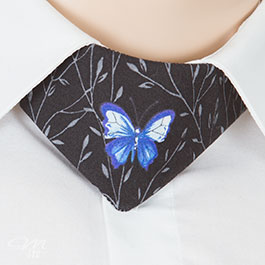 No-Tie® Butterfly Blue - Bild 3